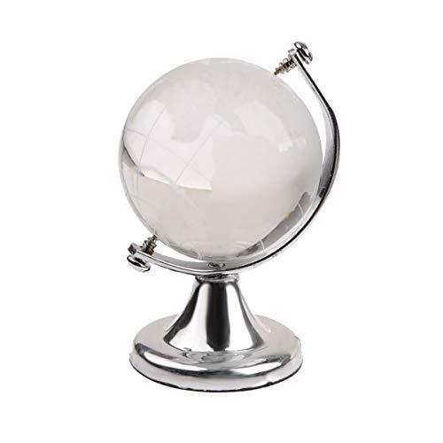 Myriad Choices Glas Globus 7 cm Kristall Glas Feng Shui Erde Planet