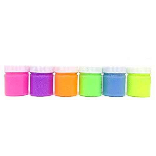 Tinta Guache 015ml Neon Asuper 06 Cores - Estojo com 1 Unidade Radex, Multicor