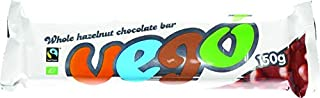 VEGO Organic Hazelnut Chocolate Bar, 150 GR