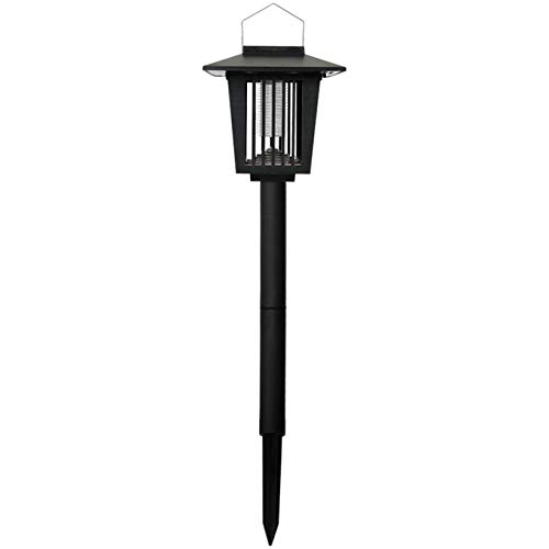 Gallity New & Improved 2-in-1 Solar Powered Zapper,Enhanced Outdoor Flying Insect Killer, Fly Pest Bugs Insect Killer Lamp for Home Garden,Best Stinger for Mosquitoes/Moths/Flies