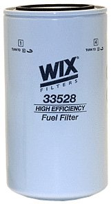 WIX Filters - 33528 Heavy Duty Spin-On Fuel Filter, Pack of 1