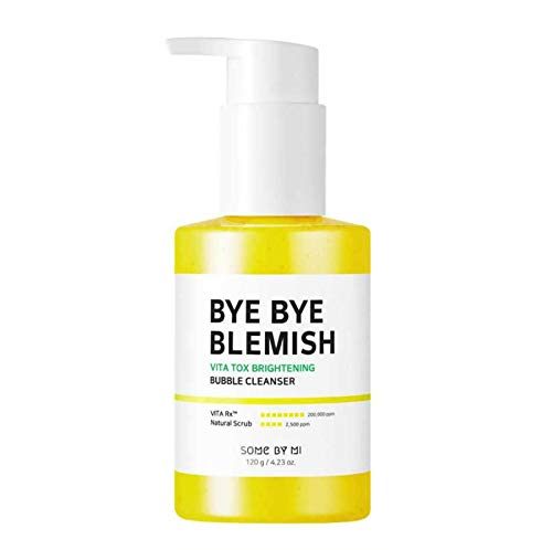 [SOME BY MI] Bye Bye Blemish Vitatox Brightening Bubble Cleanser 120g