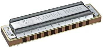 """Hohner M189693X """"Marine Band 1896"""" C, Armonica"""