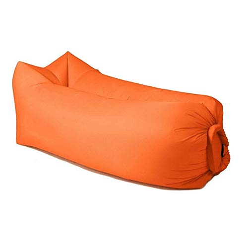 MHXY Outdoor Camping aufblasbare Sofa Lazy Bag 3 Saison Ultraleicht Daunenschlafsack Luftbett Aufblasbare Sofa-Lounger Trending Produkte Leicht zu tragen (Color : Rosy)