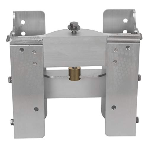 ECOTRIC Adjustable Jack Plate 4'' Outboard Boat Aluminum New Jack Plate Factory Style