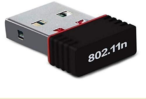 S-Tech - Adaptador USB WiFi de doble banda 2.4G inalámbrico Mini dongle red compatible con ordenador portátil / PC de escritorio compatible con Windows 2000/XP/Vista/WIN7/8/10/Linux/Mac OS X