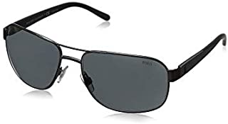 نظارة شمسية بايلوت للرجال من بولو رالف لورين PH3112
