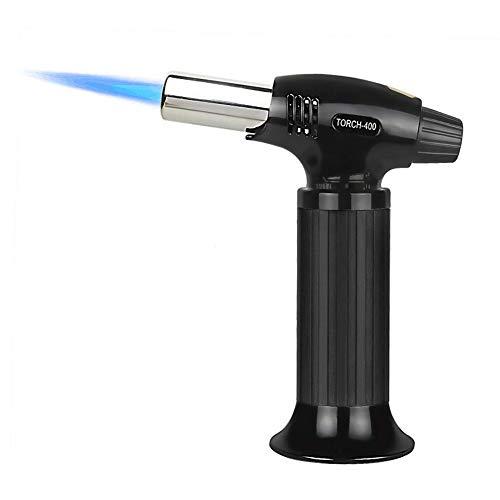 Sondiko Butane Torch, Kitchen Torch Blow Torch Lighter with Safety...