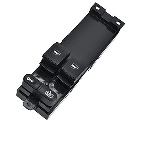 QCYSTBTG 1J3959857A Botón de Interruptor de Control de Ventana Principal, para Seat Leon 1 Toledo, para VW Bora Golf MK 4 Passat B5 3B / 3BG 1J3 959 857A