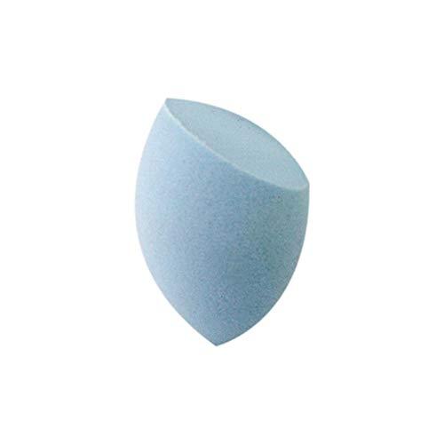 Poudre Puff Beauté Egg Cut Forme Bevel Portable Option Multi-Couleurs sans Latex Outils de Maquillage Beauté Naturelle 1pc Hydrophile Souple (Couleur : Light Blue)