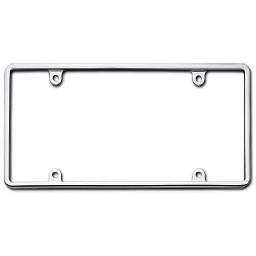 Cruiser Accessories 21330 Slim Rim License Plate Frame Chrome