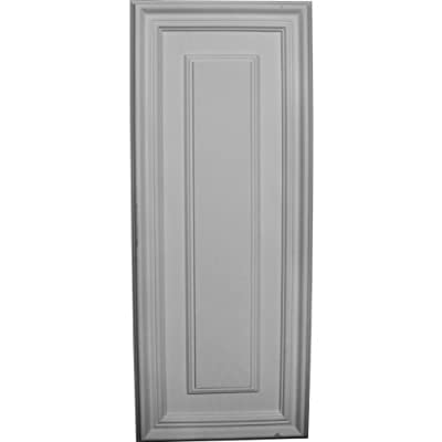 Ekena Millwork PNL22X09LE 21 5/8-Inch W x 8 5/8-Inch H x 5/8-Inch P Legacy Rectangle Wall/Door Panel