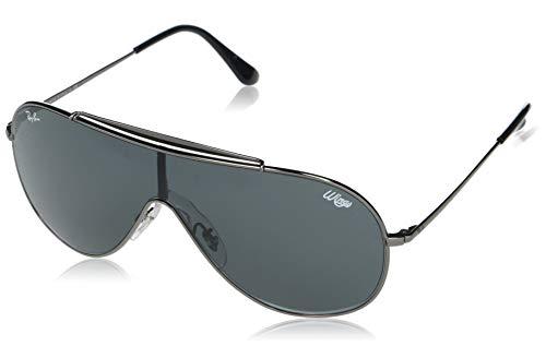 Ray-Ban 0RB3597 Gafas, GUNMETAL, 33 Unisex