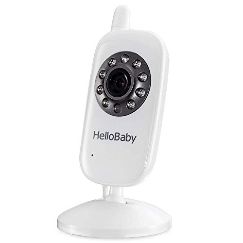 Video Baby Monitor with Camera and Audio | Keep Babies Safe with Night Vision, Talk Back, Room Temperature, Lullabies, 960ft Range and Long Battery Life (Add on Camera)
