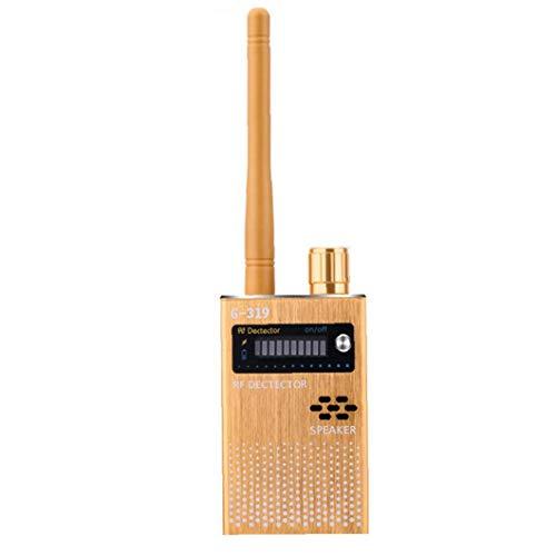 Ohomr Detector de señal inalámbrica Rastreador de señal para Buscador de escuchas ilegales cámara estenopeica G319 Anti espía del Detector de Dispositivo de Escucha