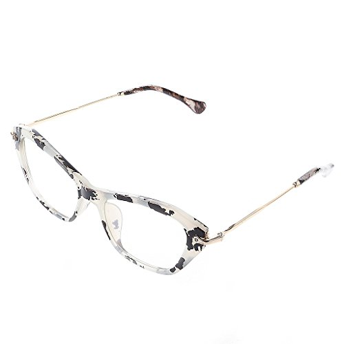 S-TROUBLE Frauen Retro Sexy Brillen Rahmen Mode Cat Eye Clear Lens Damen Brillen