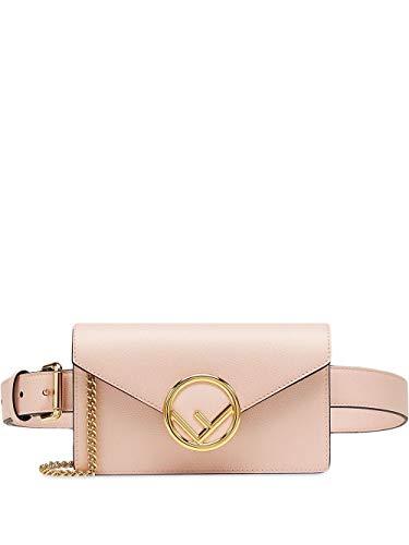 Luxury Fashion | Fendi Dames 8BM005A18BF14N1 Roze Leer Heuptas | Lente-zomer 20