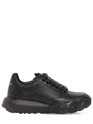 Alexander McQueen Black Court Sneakers FW20 New/Authentic (10)