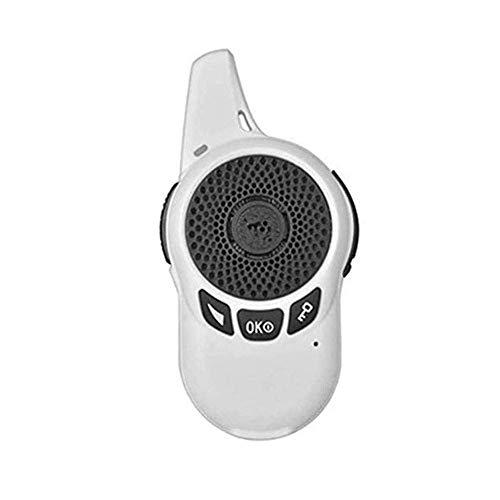 DGHJK Range Walkie Talkie, Portátil Mini Intercomunicador Walkie-Talkie Práctico Intercomunicador de Mini Máquina para Exteriores para Hablar de Pequeñas Máquinas Un Par, Blanco