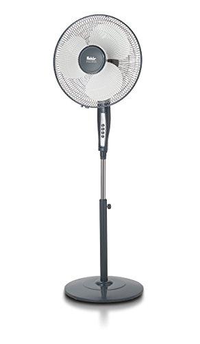 Fakir VC 45 S Prestige - Höhenverstellbarer Standventilator mit Teleskopstativ, 3 Geschwindigkeitsstufen & 75°Oszillation I Leistungsstarker Ventilator für Büro & Haushalt I 60 Watt