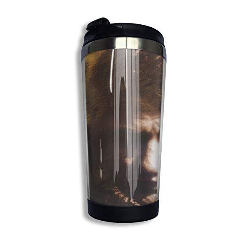 N/A NA Johnny Cash- Isolierte Kaffeebecher Auslaufsichere Kaffeetasse Für Kaffee Tee Und Bier Isolierter Reisebecher