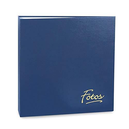 Álbum de Fotos Mega - 500 Fotos 10x15 cm - Azul - 35x33,5 cm