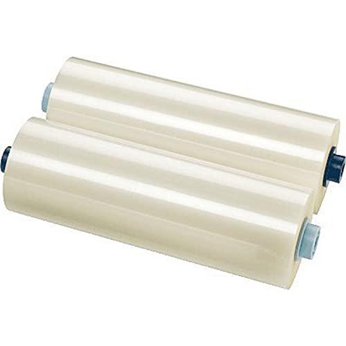 GBC Laminierfilmrollen für GBC Ultima35 Laminiergerät, Laminierfolien Rolle, 60 m x 305 mm, Folienstärke 125 mic, 2 Stück, 3400931EZ