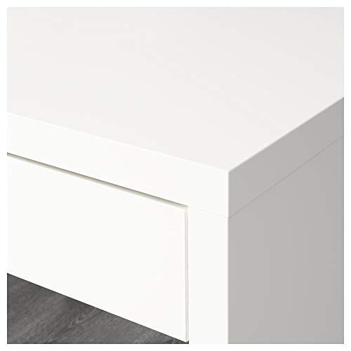 White IKEA Desk For Gaming
