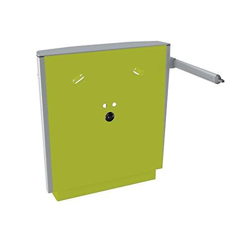 Pressalit R4950277 elektrischer Waschtisch-Lifter höhenverstellbar, Waschbecken behindertengerecht, barrierefrei für Senioren (75 x 67 x 17 cm, Belastbarkeit 100 kg), limonengrün