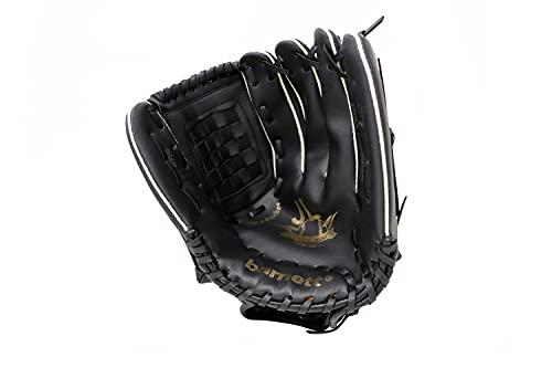 JL-125 REG schwarz Baseball Handschuh, Polyurethan, Infield/Outfield, Gr 12,5 (für Rechtshänder, Wird an der linken Hand getragen)