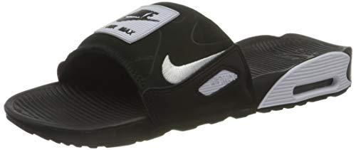 Nike Air Max 90 Slide, Basket Homme, Black/White, 40 EU