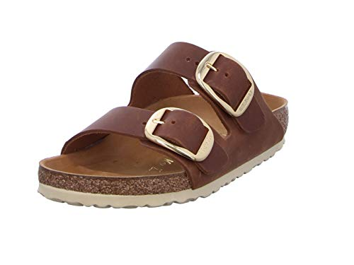 BIRKENSTOCK Arizona Big Buckle Größe 38 EU Braun (Antik Braun)