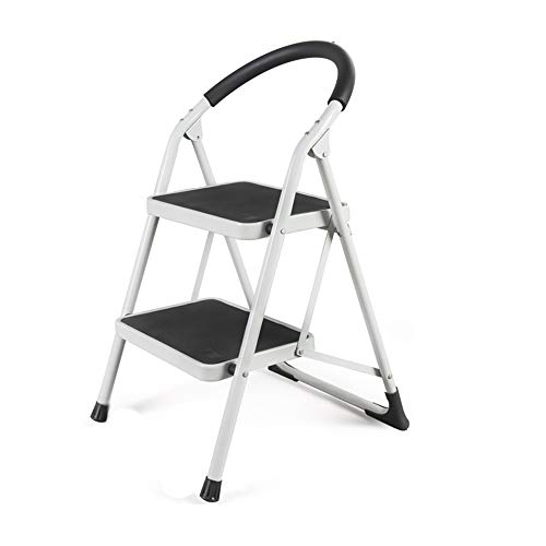 Klapladder in huis verdikkingsladder 2-traps ladder binnengeleider mechanische ladder ladder ++ 10 Correas