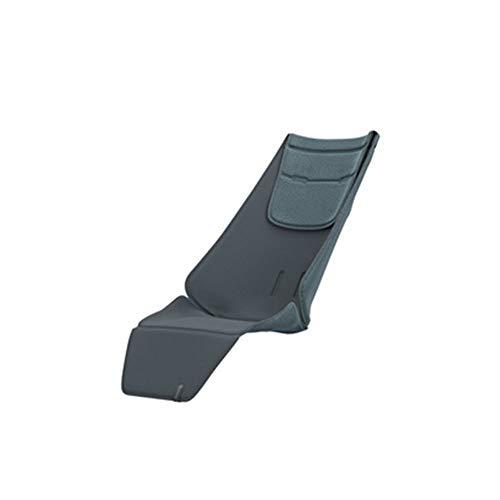 Quinny Kinderwagen Sitzauflage, hochwertiges und bequemes Sitzpolster, nutzbar für Quinny Kinderwagen Zapp Flex, Zapp Flex Plus und Zapp Xpress, graphite grey