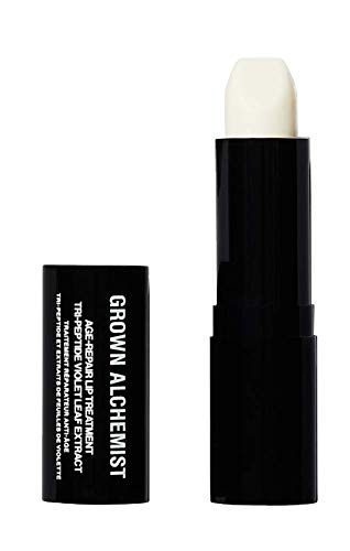 Grown Alchemist Age Repair Lip Treatment - Tri-Peptide & Violet Leaf Extract - Anti Aging Clear Balm to Target Visible Lip Lines, Clean Skincare (3.8g / 0.14oz)