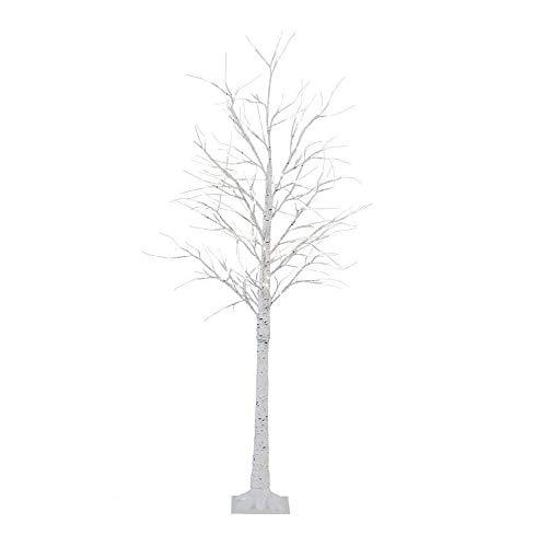 HY-MS クリスマスツリー 白樺 ツリー led ブランチツリー バレンタインデー ギフト 120cm 北欧 おしゃれ ウェルカムツリー 64 Led ライト