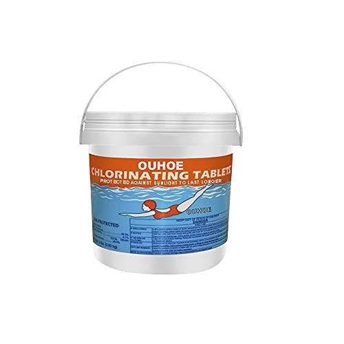 DB11 Chlorine Tablets for Swimming Pool, Chlorine Tablets for Hot Tubs, Chlorine Tablets, Pool Cleaning Tablets, Spa Chlorine Tablets, Multifunction Chlorine Tablets, 100/300/1000 PCS (300)