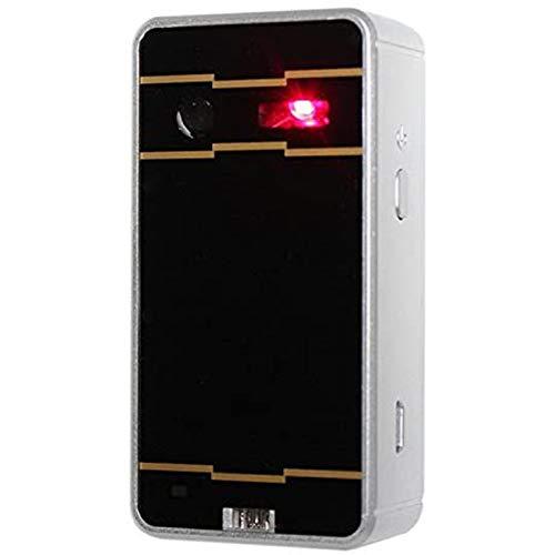 WWJL Teclado de proyección láser virtual, teclado inalámbrico con láser, para Apple iPhone, iPad, Android, teléfonos inteligentes y portátiles