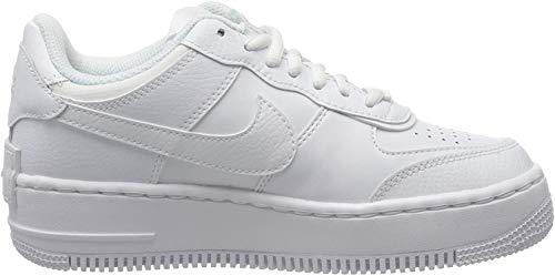 Nike Damen W Af1 Shadow Basketballschuh, White, 40 EU