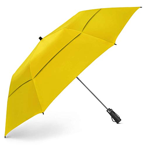 EEZ-Y Golf Umbrella Large 58 Inch Double Canopy Strong Windproof Heavy Duty & Oversized...