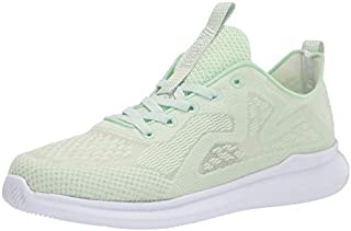 Propet Women's TravelBound Spright Sneaker, Lime Mousse, 10 XX-Wide