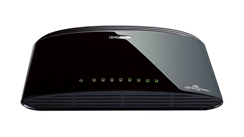 D-Link DES-1008D 8-Port Fast Ethernet Unmanaged Desktop Switch UK Model