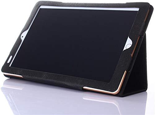 AKNICI Slim Folio Hülle Case Tasche, Kompatibel für Qimaoo T104 Tablet, ZONMAI 10, HMAI Tablet 10, Kivors 10,1 Zoll Tablet PC, Haehne 10,1 Zoll Tablet PC, JINYJIA 10.1 Zoll Tablet PC Etc - Schwarz