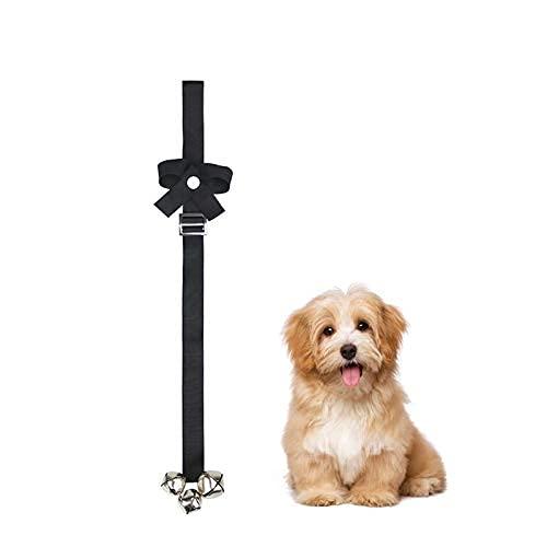 Timbres de entrenamiento para mascotas, timbres de perro para entrenamiento en orinal, correa ajustable para perros timbres para entrenamiento en casa
