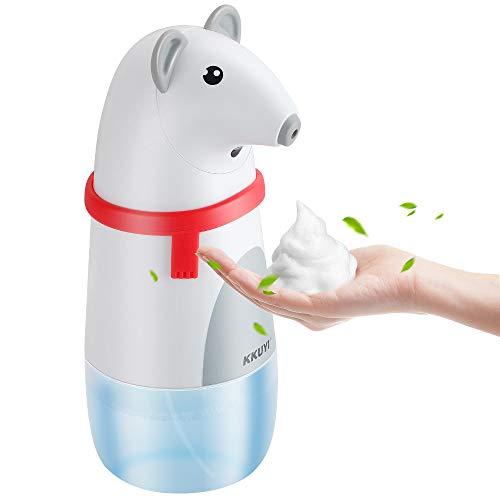 KKUYI Seifenspender Automatisch, Automatischer Seifenspender Sensor Schäumende Seifenspender mit Sensor Infrarot,IPX5 wasserdichter Schaumseifenspender für Toilette, Bad, Kithcen und Hotel