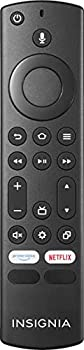 Insignia - Fire TV Replacement Remote for Insignia and Toshiba - Black