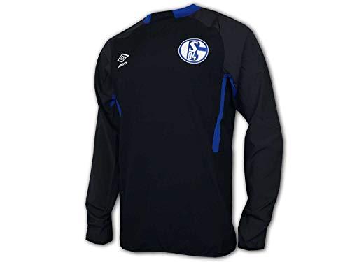 UMBRO Schalke 04 Drill Top S04 Training Shirt Fanartikel Jersey Königsblau, Größe:S