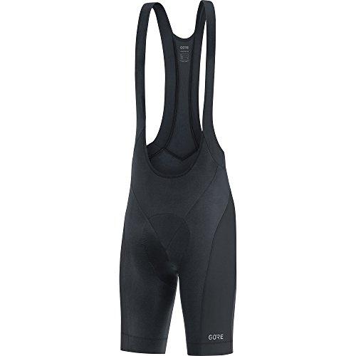 GORE Wear C3 Homme Cuissard à bretelles de cyclisme avec insert peau de chamois, XXL, Noir