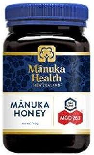 Manuka Health New Zealand Manuka Honey - MGO 263+ , 17.6 oz (500g)