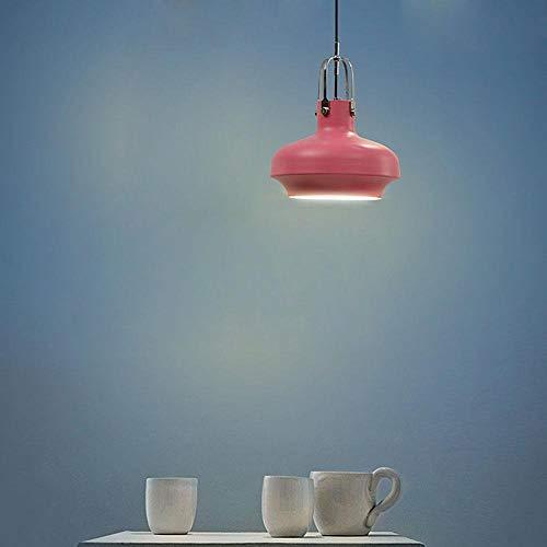 Zhang Ying Moderne hanglamp op het nachtkastje, eenvoudige hanglamp, meerkleurig, decoratie, retro hanglamp, zwart apparaat, 1 lamp voor woonkamer of studio